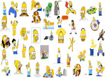 My Homer Collage