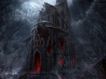Dark Horror Church