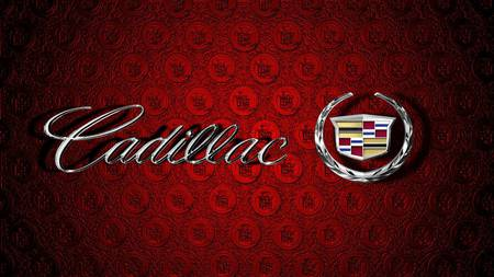 Cadillac emblems III - red, cadillac, cars, gm, wallpaper, emblem
