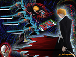 Ichigo the power of the soul reaper and the vizard