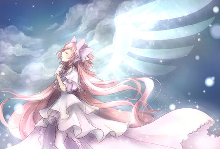 Angel Of Hope Other Anime Background Wallpapers On Desktop