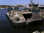 Swedish navys hovercraft
