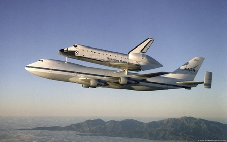 NASA Space Shuttle - cool, nasa, space shuttle, picture