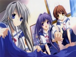 Tomoyo, Kyo and Nagisa