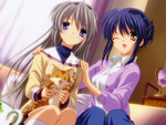 Tomoyo and Misae