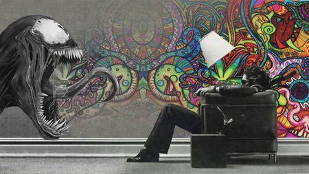 cool graffiti wind chair art graffiti abstract background