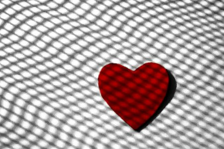 abstract heart lines - red, grid lines, grid, heart, lines, soul, abstract