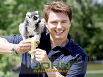 John Barrowman with monkey