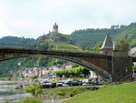 Castle with bridge - Cochem-Mosel