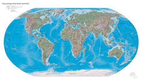 Physical Worldmap - worldmap, earth map, physical worldmap, xxl, physical, map