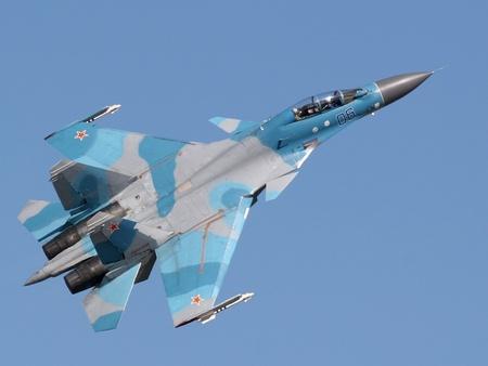 Sukhoi Su-30 - fighter, russian, sukhoi, jet