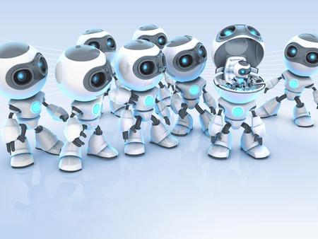 Cute Robots - iza, chan, sama, mayu
