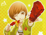 Chie Loves to eat