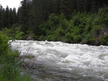 Raging waters - North Fork Payette River - white water, rapids, idaho, rivers