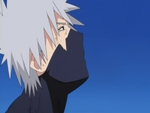 kakashi Hatake staring at the blue sky