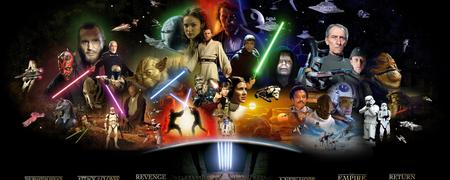 People Of Star Wars Episodes Dual Monitor Movies Entertainment Background Wallpapers On Desktop Nexus Image 713331