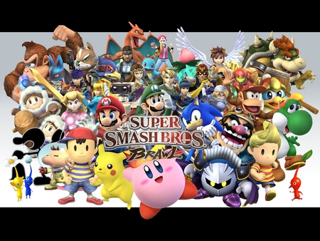 Super smash bros - bros, mario, super smash bros, smash