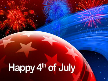To my American friends - stars and stripes, celebration, white, blue, red, united states