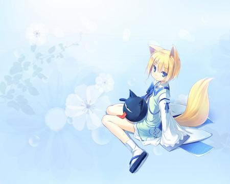 Kitsune Other Anime Background Wallpapers On Desktop Nexus