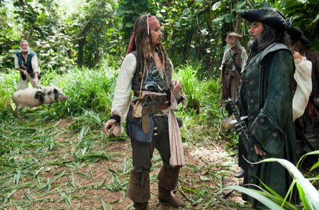 PIRATES OF THE CARIBBEAN - pirates, 2011, movie, jack