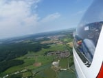 gliding over germany