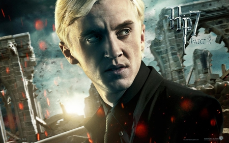 Draco - it all ends, hogwarts, part 2, deathly hallows, hp7, harry potter