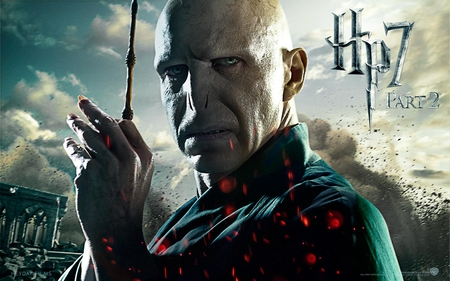 Voldemort - part 2, it all ends, deathly hallows, harry potter, hp7, hogwarts