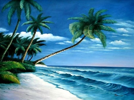 tropical scene oceans amp nature background wallpapers on