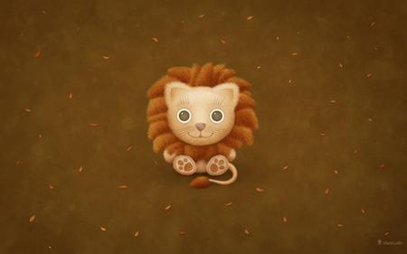 Mac OS X Lion Wallpaper - lion, apple, fun, mac, cute, kid