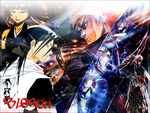 Ichigo Byakuya Soi Fon the beast of bleach