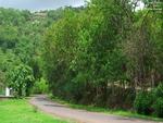 Road to Temghar Dam