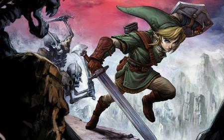 Zelda - videogame, art, wallpaper, zelda