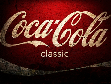 Coca Cola - red, red and white, cola, coke, american, usa, america, classic, white, coca