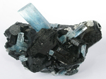 Aquamarine Beryl With Schorl