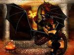 Dragon and Dark Angel