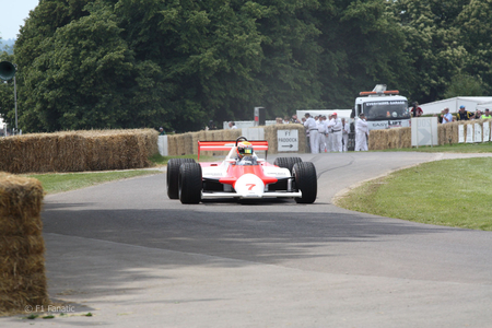 Lewis at Goodwood 2011 - lewis, formula 1, hamilton, mclaren
