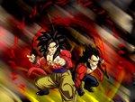 SSJ4-Goku & Vegeta