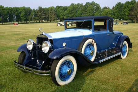 1929 Cadillac - cadillac, coupe, two tone, vintage
