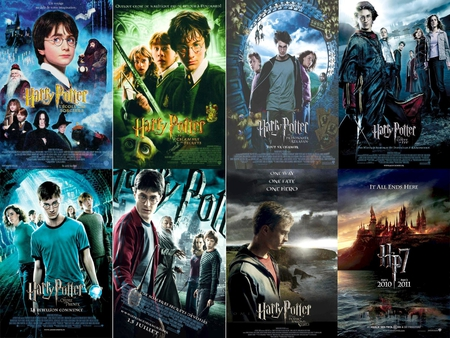 Harry Potters Poster Movies Entertainment Background