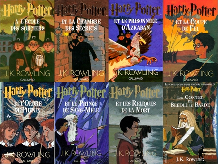 Harry Potter Les Livres Movies Entertainment Background