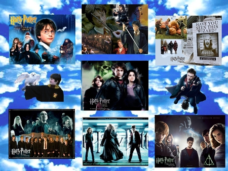 Harry Potter WP - witch, movie, harry potter, magic, wizard
