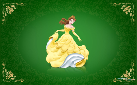 Elegant Princess - elegant, cute, princess, yellowdress