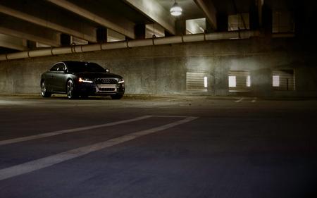 Audi S5 Garage - cool, dark, garage, car, s5, audi