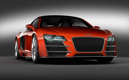 Audi R8 LM - red, lm, car, clean, r8, audi