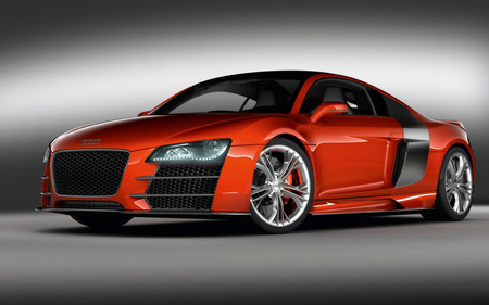 Audi R8 TDI LM - red, lm, tdi, car, clean, r8, audi