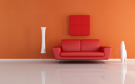 Red Sofa Photography Abstract Background Wallpapers On Desktop