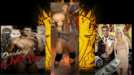 lagcey whent there own ways - ted, randy orton, wwe, cody