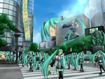 Attack of the Miku Army