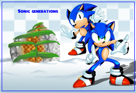Sonic Generations - sonic pictures, sonic, sonic x, sonic the hedgehog