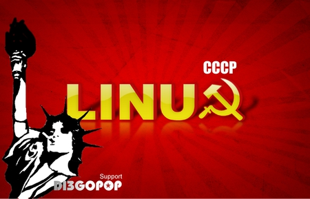 Linux Wallpaper CCCP Rock DIEGOPOP - moscow, linux, rock, diegopop, russia, wallpaper, screenshot, desktop, cccp